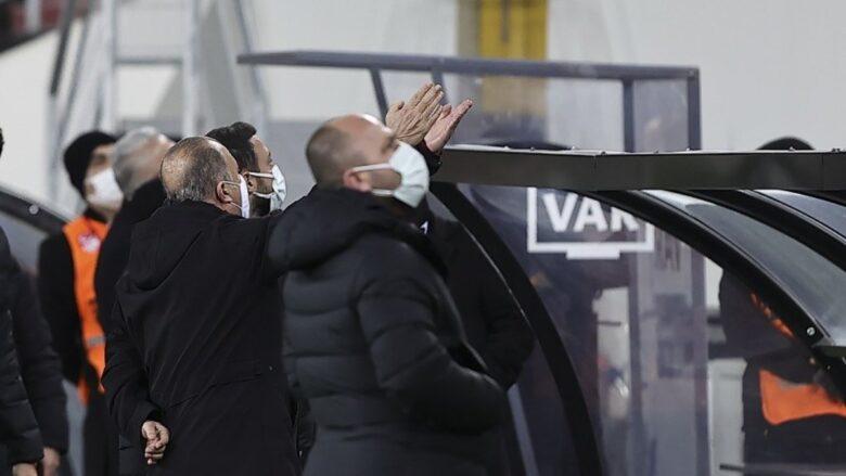 Fatih Terim, Ankaragücü yöneticileriyle tartıştı