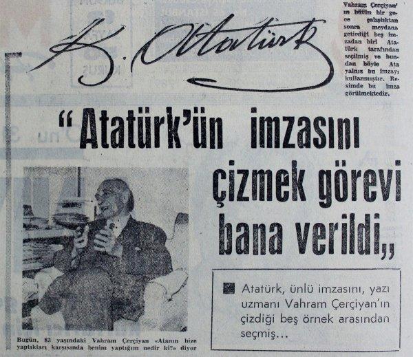 Kemal Atatürk imzasının az bilinen hikayesi #2