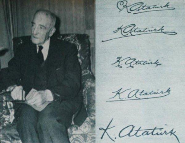 Kemal Atatürk imzasının az bilinen hikayesi #3