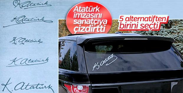 Kemal Atatürk imzasının az bilinen hikayesi