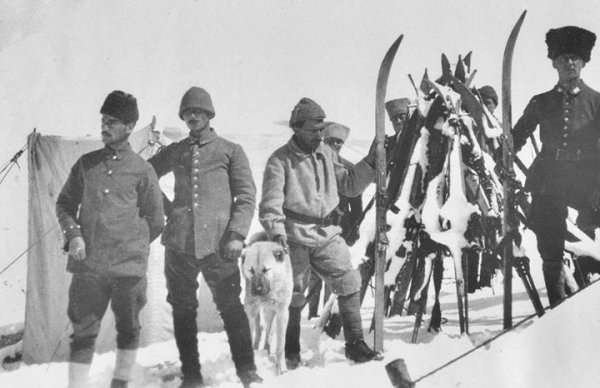 Osmanlı'da kayak birlikleri #3