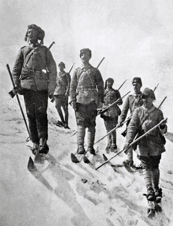 Osmanlı'da kayak birlikleri #4