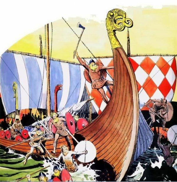 Tüm gerçekliğiyle Vikinglerin ilginç hayatı #10