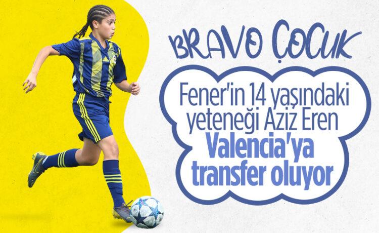Valencia ve Fulham, Fenerbahçeli Aziz Eren'in istiyor